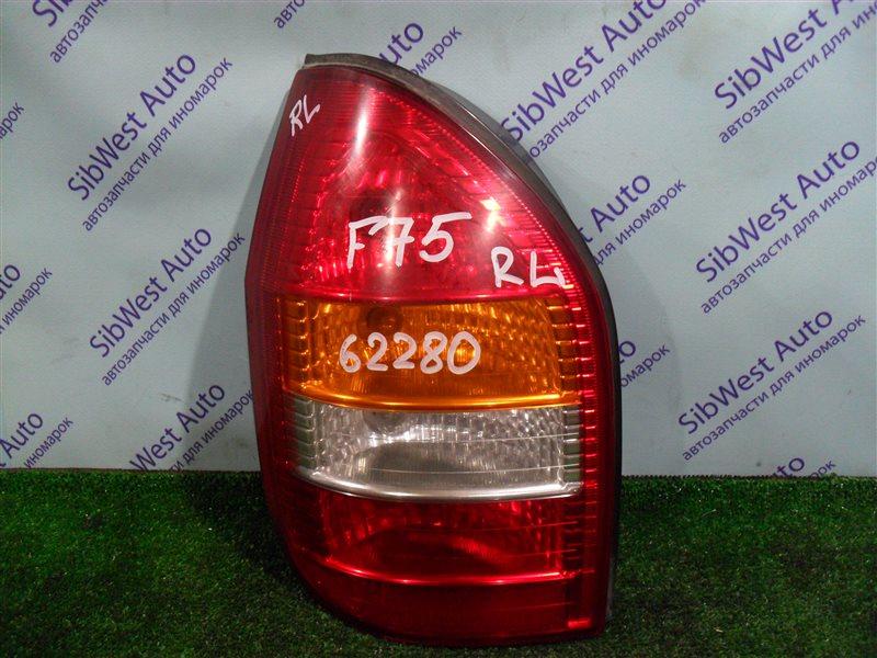 Стоп-сигнал Opel Zafira F75 Z22SE 2001 задний левый