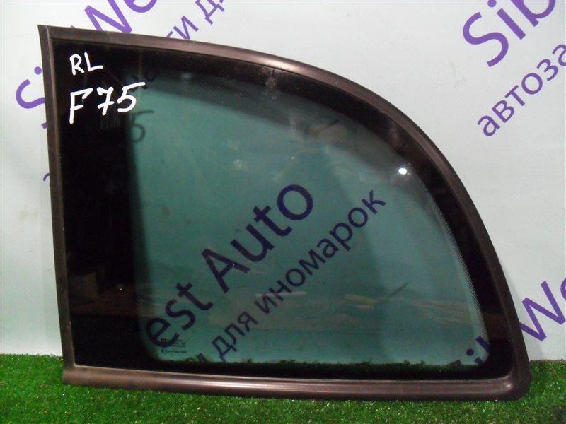 Стекло собачника Opel Zafira F75 Z22SE 2001 заднее левое