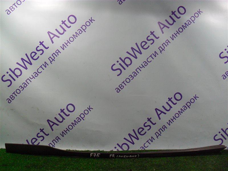 Молдинг лобового стекла Opel Zafira F75 Z22SE 2001 передний правый
