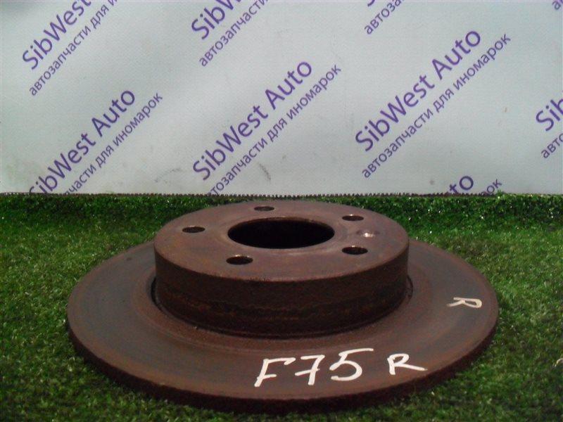 Тормозной диск Opel Zafira F75 Z22SE 2001 задний