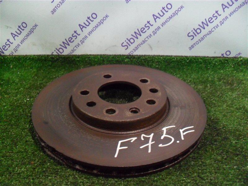 Тормозной диск Opel Zafira F75 Z22SE 2001 передний