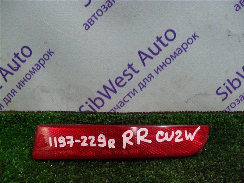Катафот Mitsubishi Airtrek CU2W 4G63 2001 задний правый