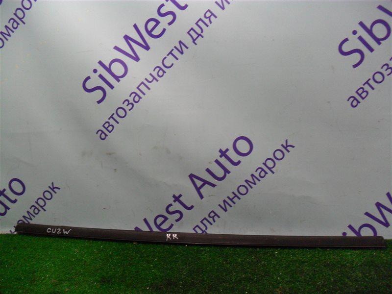Молдинг на дверь Mitsubishi Airtrek CU2W 4G63 2001 задний правый верхний