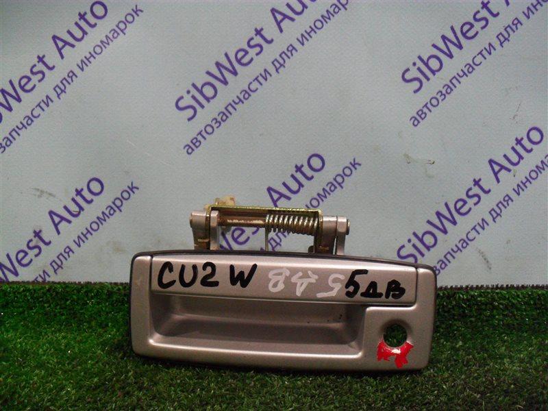 Ручка задней двери Mitsubishi Airtrek CU2W 4G63 2001
