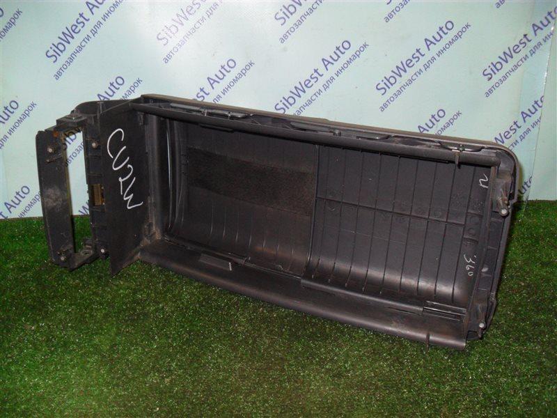 Консоль между сидений Mitsubishi Airtrek CU2W 4G63 2001