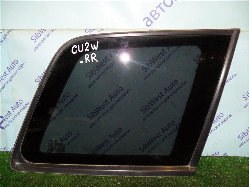 Стекло собачника Mitsubishi Airtrek CU2W 4G63 2001 заднее правое