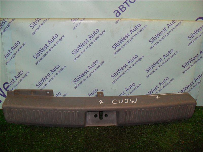 Накладка замка багажника Mitsubishi Airtrek CU2W 4G63 2001