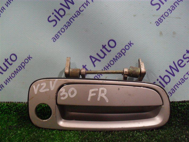 Ручка двери внешняя Toyota Camry Prominent VZV30 1VZ-FE 1991 передняя правая