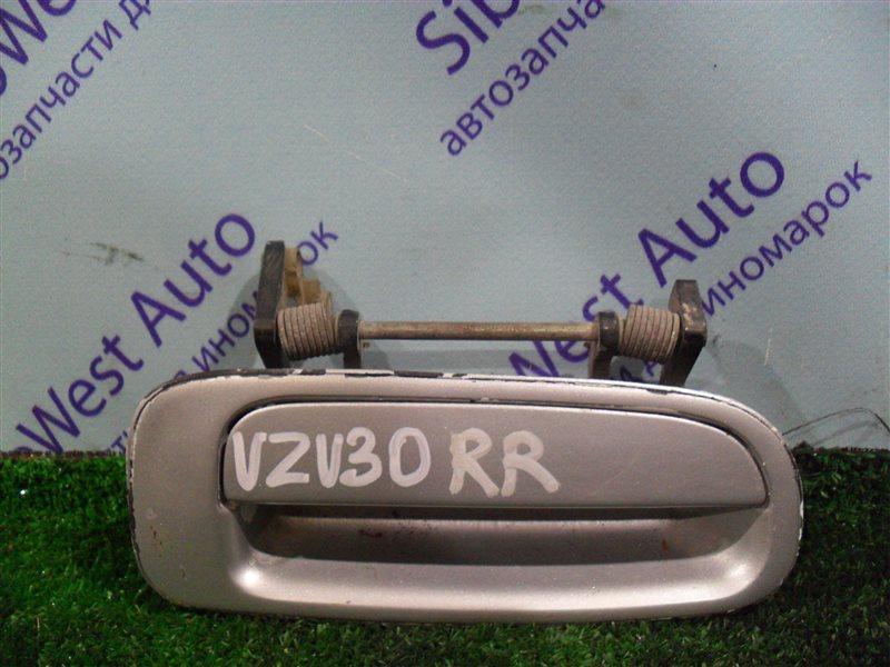 Ручка двери внешняя Toyota Camry Prominent VZV30 1VZ-FE 1991 задняя правая