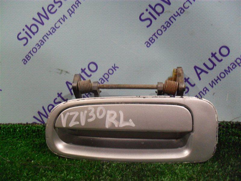 Ручка двери внешняя Toyota Camry Prominent VZV30 1VZ-FE 1991 задняя левая
