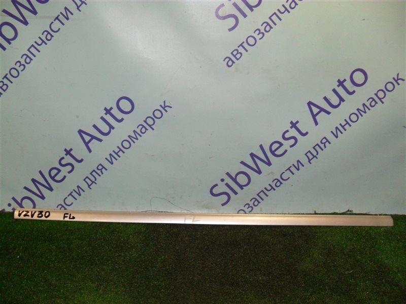 Молдинг на дверь Toyota Camry Prominent VZV30 1VZ-FE 1991 передний левый