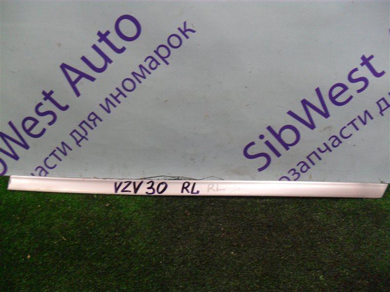 Молдинг на дверь Toyota Camry Prominent VZV30 1VZ-FE 1991 задний левый