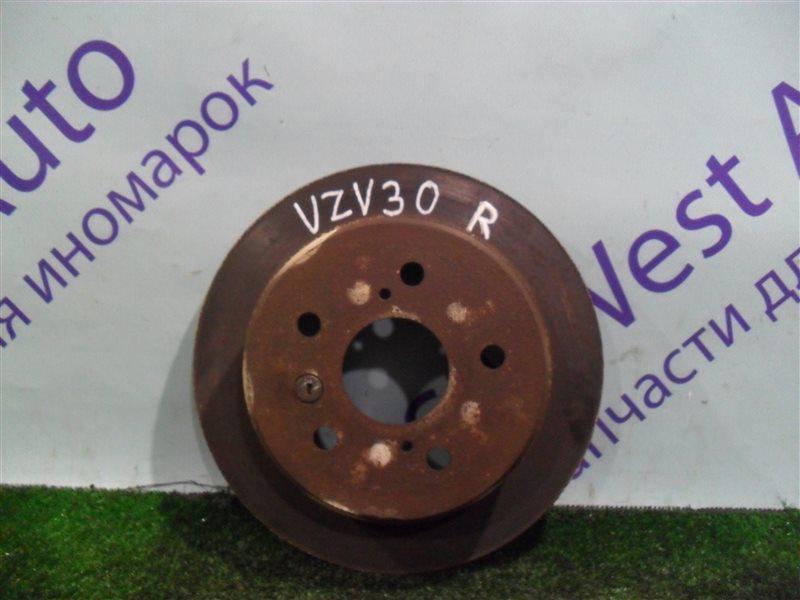 Тормозной диск Toyota Camry Prominent VZV30 1VZ-FE 1991 задний