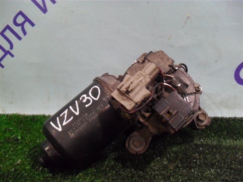 Мотор дворников Toyota Camry Prominent VZV30 1VZ-FE 1991 передний