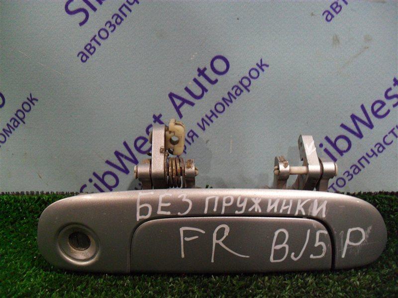 Ручка двери внешняя Mazda Familia BJ5P ZL 2003 передняя правая