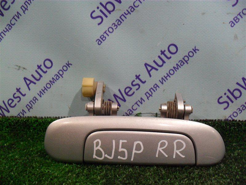 Ручка двери внешняя Mazda Familia BJ5P ZL 2003 задняя правая