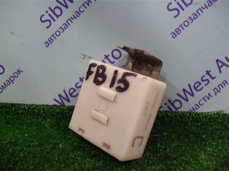 Электронный блок Nissan Sunny FB15 QG15DE 2001