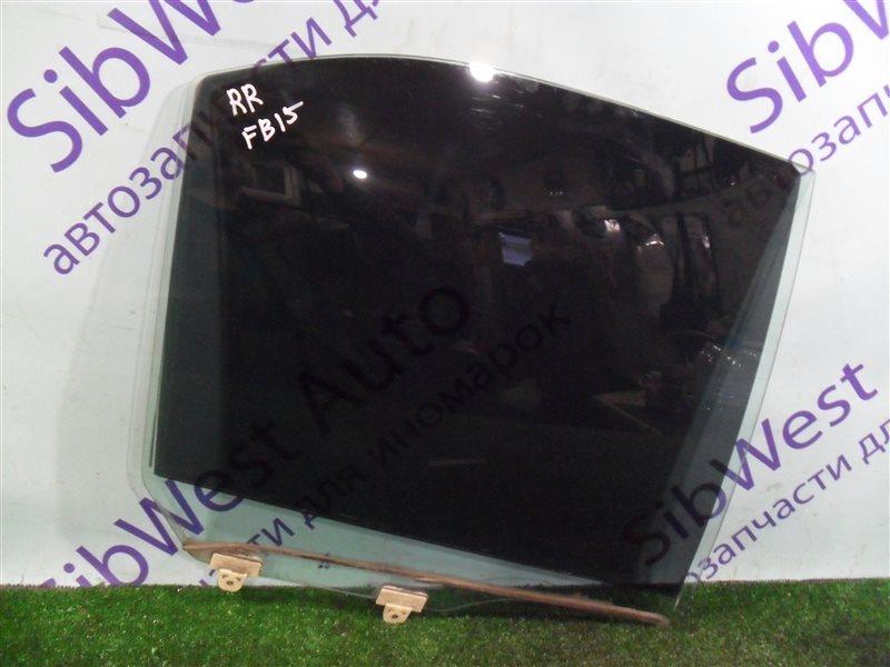 Стекло двери Nissan Sunny FB15 QG15DE 2001 заднее правое