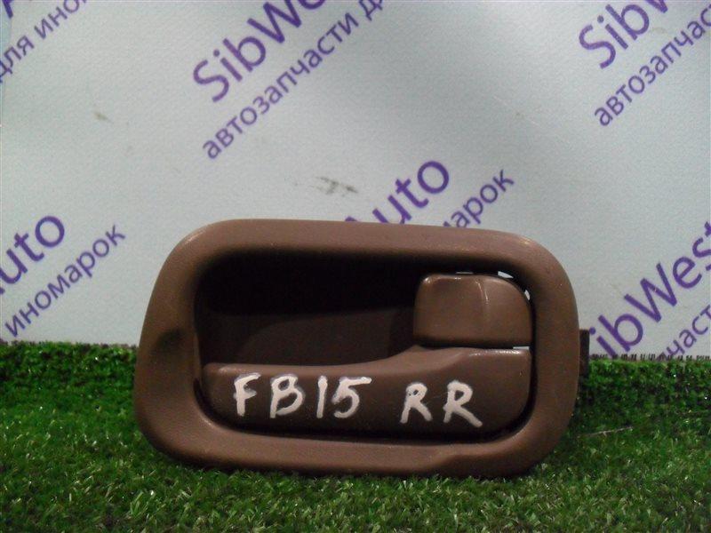 Ручка двери внутренняя Nissan Sunny FB15 QG15DE 2001 задняя правая