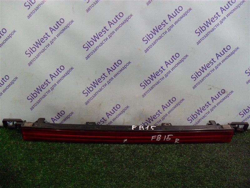Вставка между стопов Nissan Sunny FB15 QG15DE 2001
