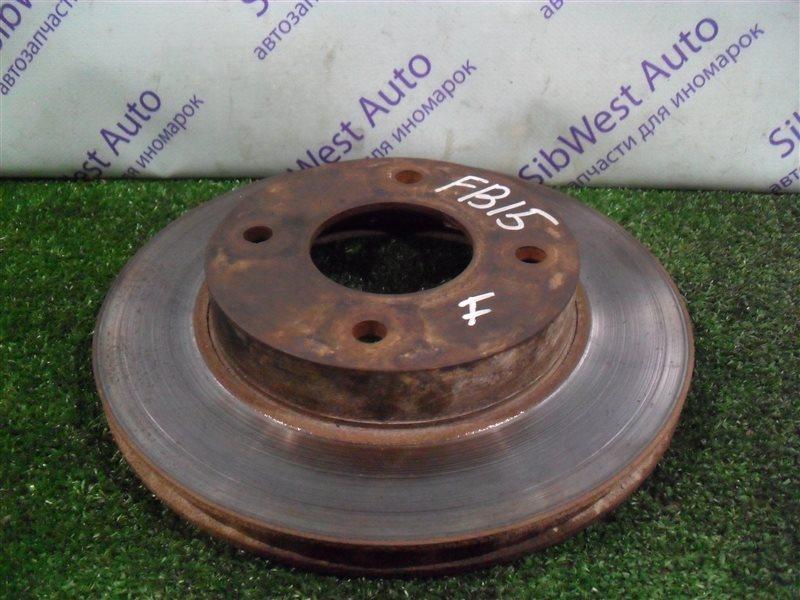 Тормозной диск Nissan Sunny FB15 QG15DE 2001 передний