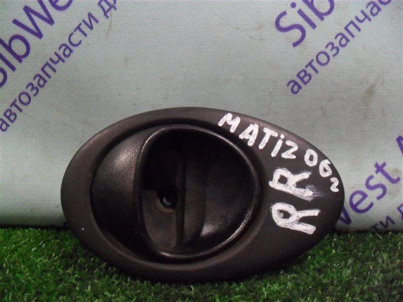 Ручка двери внутренняя Daewoo Matiz KLYA F8CV 2010 задняя правая