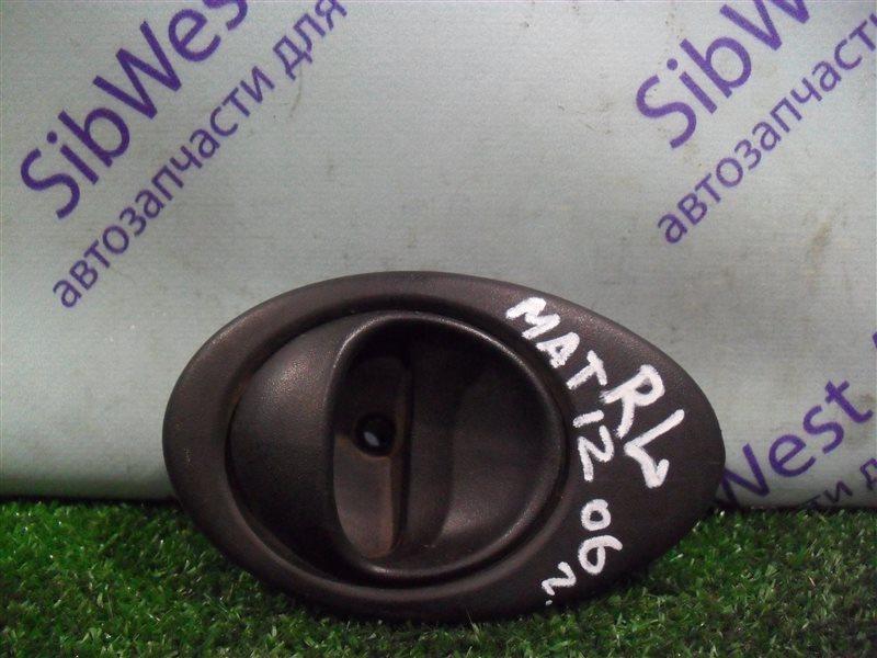 Ручка двери внутренняя Daewoo Matiz KLYA F8CV 2010 задняя левая