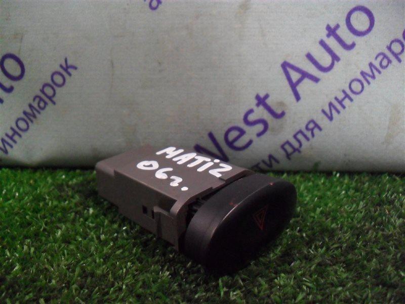 Кнопка аварийной сигнализации Daewoo Matiz KLYA F8CV 2010