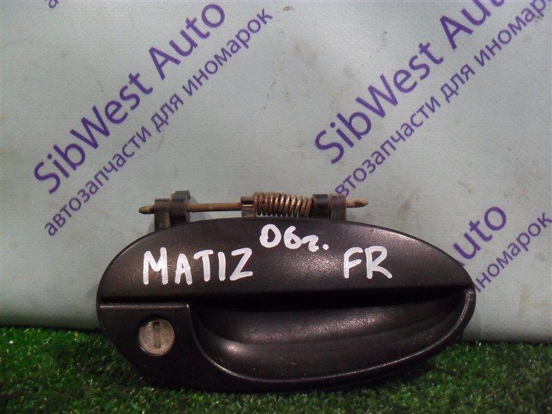 Ручка двери внешняя Daewoo Matiz KLYA F8CV 2010 передняя правая