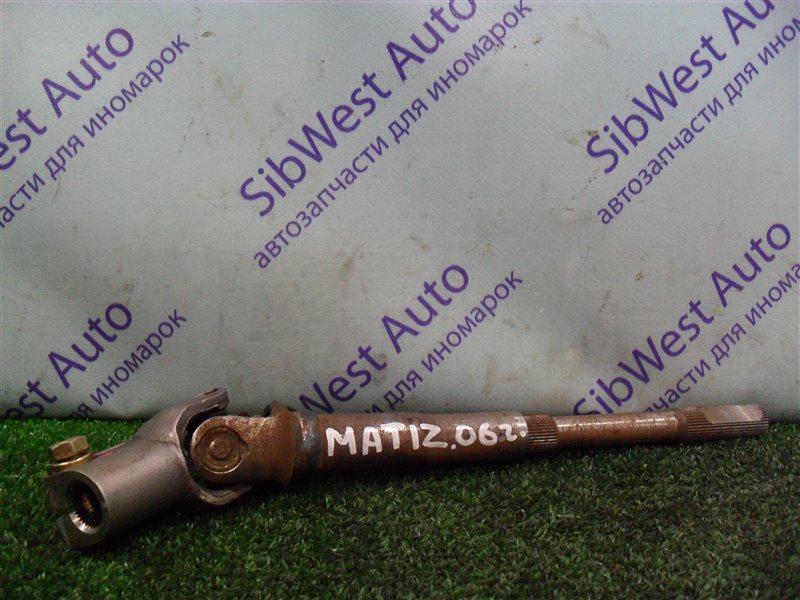 Рулевой карданчик Daewoo Matiz KLYA F8CV 2010
