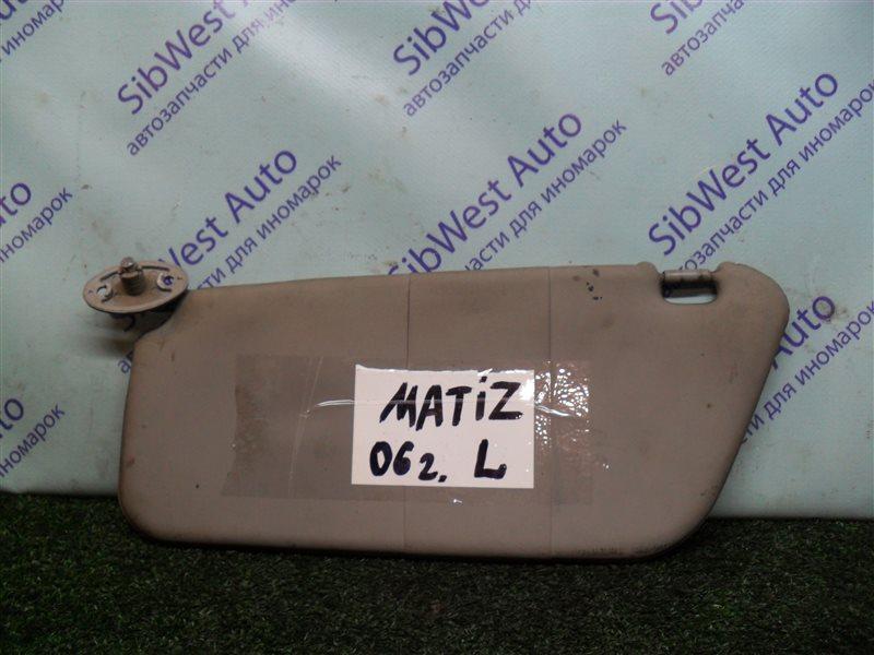 Козырек Daewoo Matiz KLYA F8CV 2006 левый