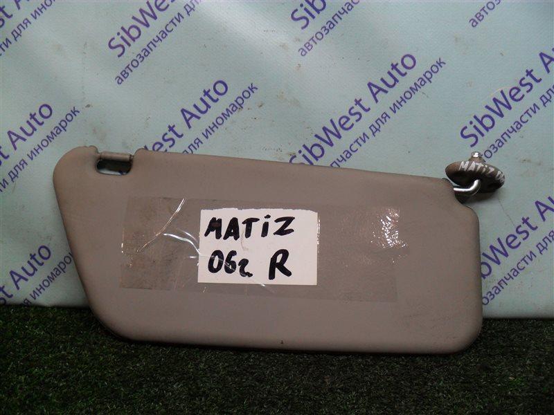 Козырек Daewoo Matiz KLYA F8CV 2006 правый