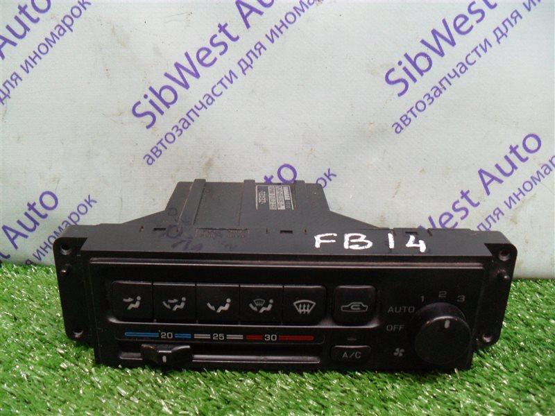 Блок управления климат-контролем Nissan Sunny FB14 GA15DE 1994