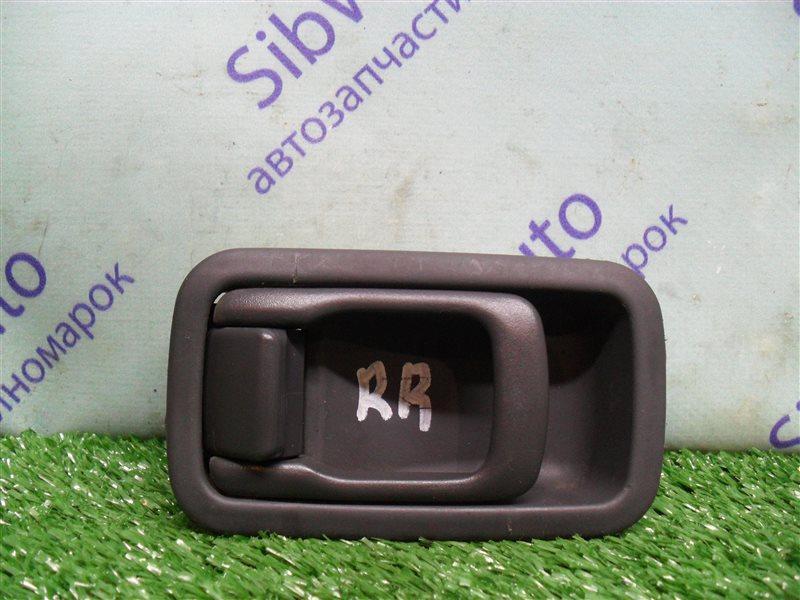 Ручка двери внутренняя Nissan Sunny FB14 GA15DE 1994 задняя правая