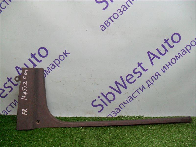 Порожек пластиковый Daewoo Matiz KLYA F8CV 2010 передний правый