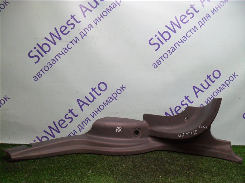 Накладка на крыло Daewoo Matiz KLYA F8CV 2010 задняя правая