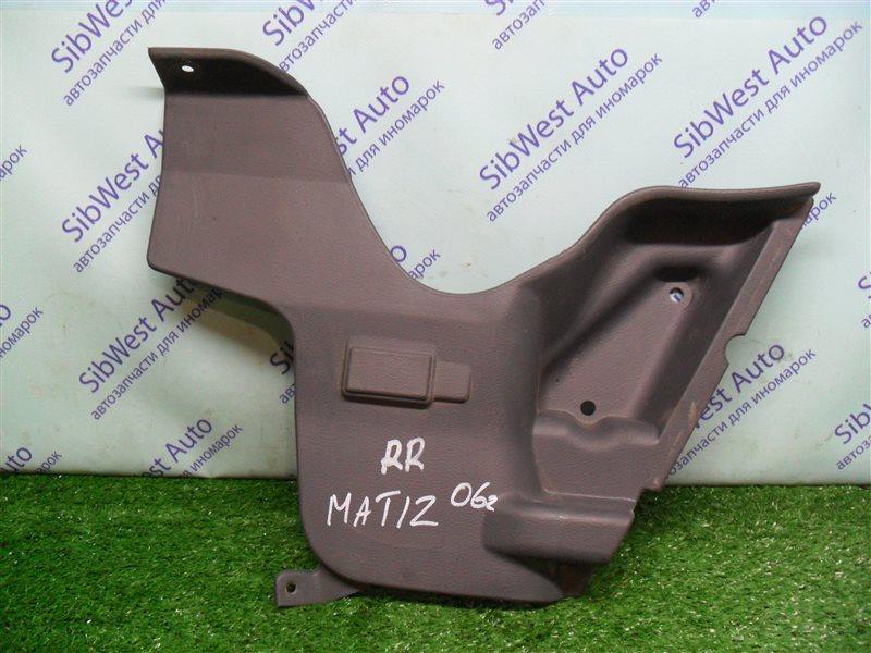Обшивка багажника Daewoo Matiz KLYA F8CV 2010 задняя правая