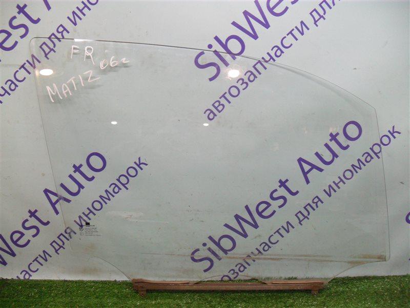 Стекло двери Daewoo Matiz KLYA F8CV 2006 переднее правое