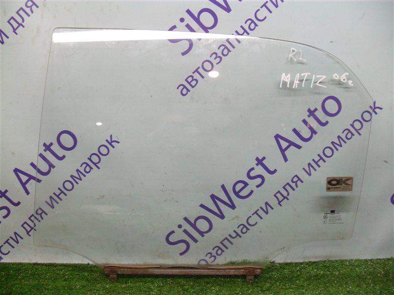 Стекло двери Daewoo Matiz KLYA F8CV 2006 заднее левое