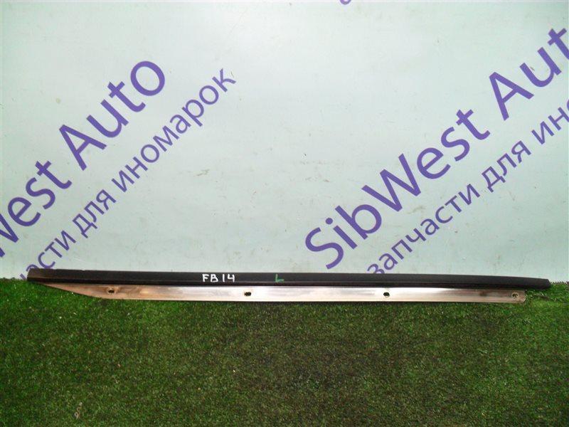 Молдинг лобового стекла Nissan Sunny FB14 GA15DE 1994 передний левый