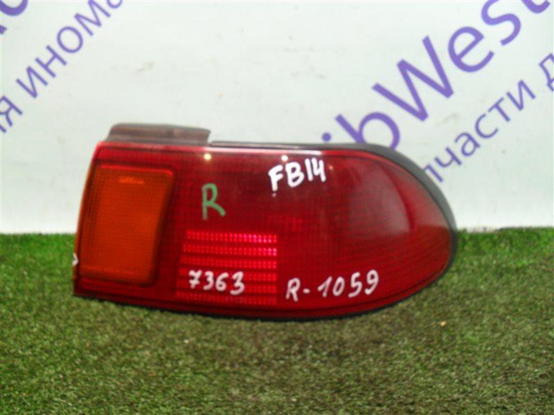 Стоп-сигнал Nissan Sunny FB14 GA15DE 1994 задний правый