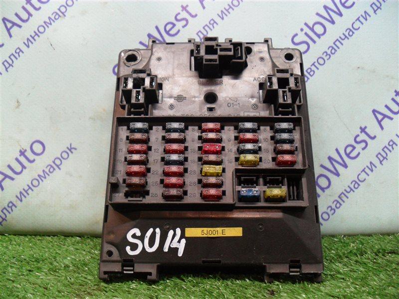 Блок предохранителей Nissan Bluebird SU14 CD20 1999