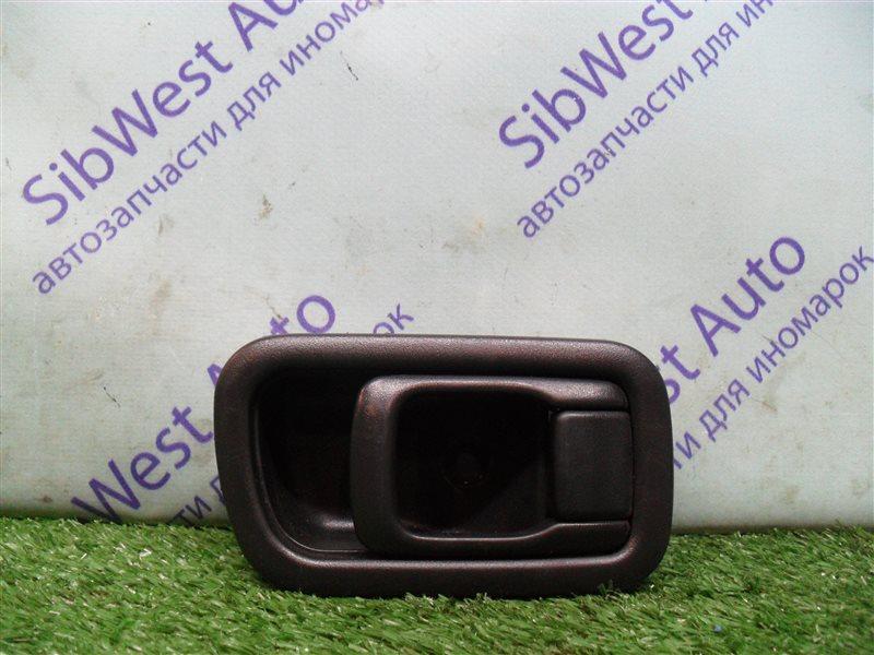 Ручка двери внутренняя Nissan Bluebird SU14 CD20 1999 задняя левая