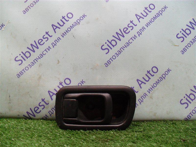 Ручка двери внутренняя Nissan Bluebird SU14 CD20 1999 задняя правая