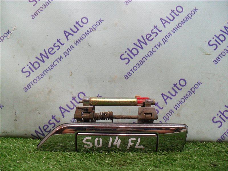 Ручка двери внешняя Nissan Bluebird SU14 CD20 1999 передняя левая