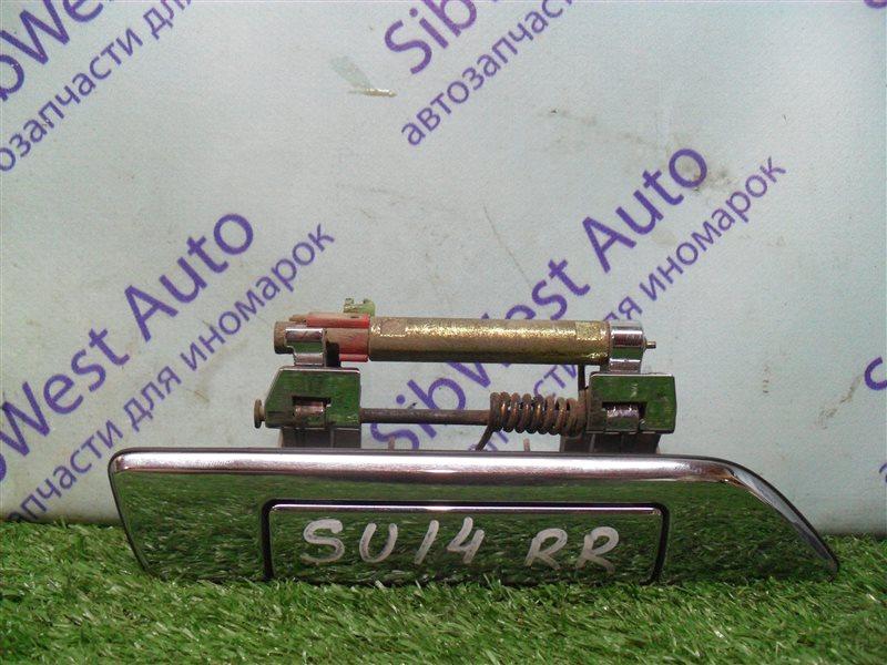 Ручка двери внешняя Nissan Bluebird SU14 CD20 1999 задняя правая