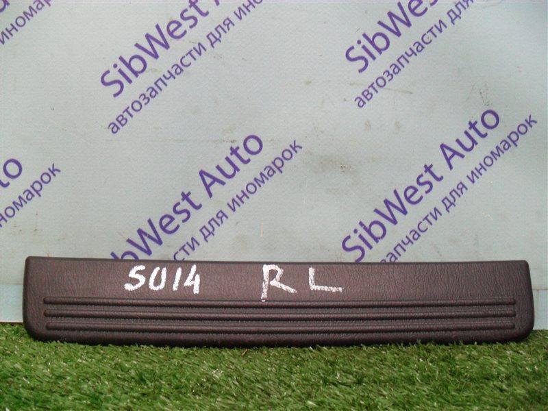 Порожек пластиковый Nissan Bluebird SU14 CD20 1999 задний левый