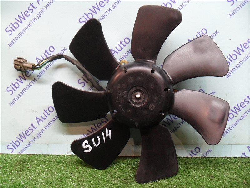 Вентилятор радиатора кондиционера Nissan Bluebird SU14 CD20 1999