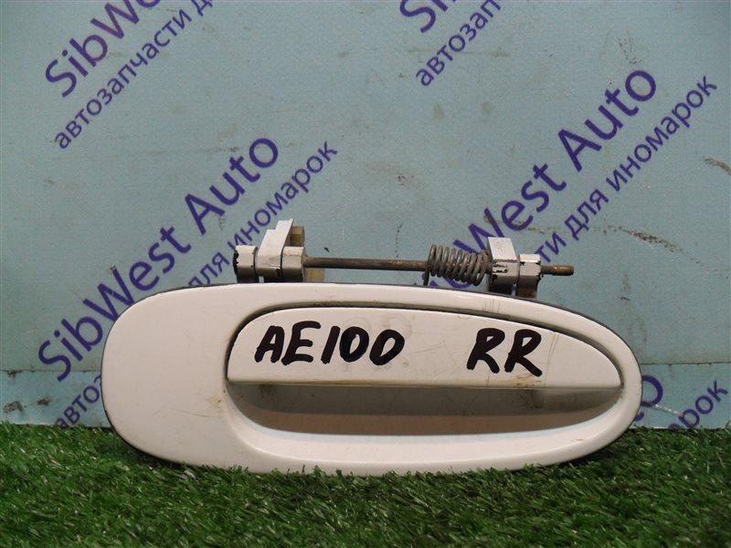 Ручка двери внешняя Toyota Sprinter AE100 5A-FE 1993 задняя правая