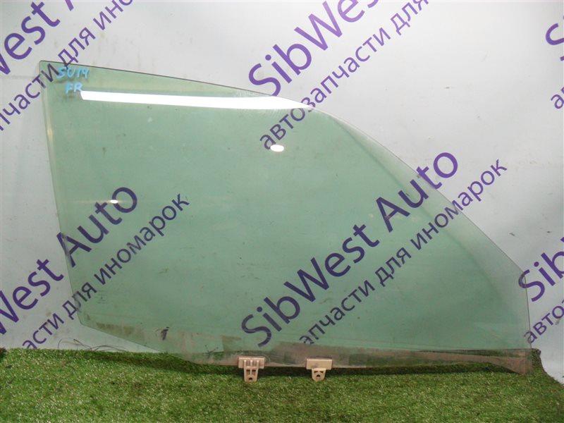 Стекло двери Nissan Bluebird SU14 CD20 1999 переднее правое